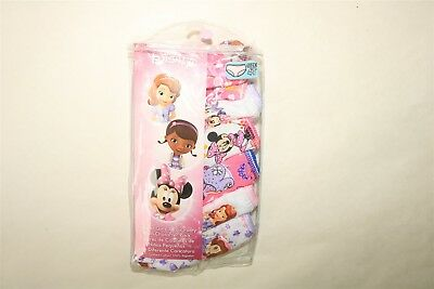 LOT OF 6 PAIR DISNEY Toddler Girl's Character Briefs Minnie Mouse Princess - 4T