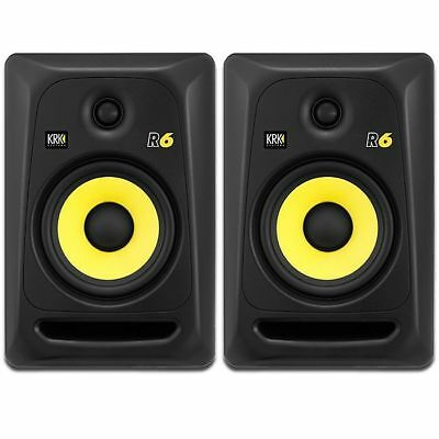 KRK R6 G3 Passive Studio Monitors (PAIR)