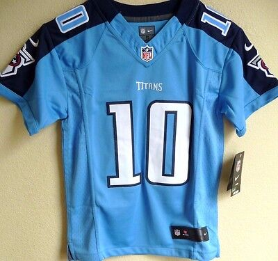 53bf2926a Youth NFL Nike Tennessee Titans Football Jake Locker  10 Limited Jersey S  (8)