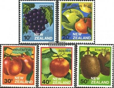 New Zealand 884-888 (complete issue) unmounted mint / never hinged 1983 Fruits