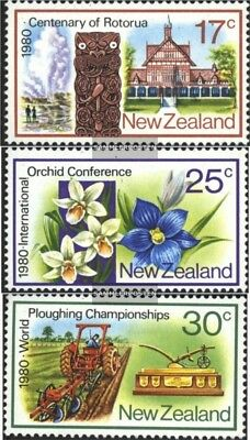 New Zealand 793-795 (complete issue) unmounted mint / never hinged 1980 Annivers