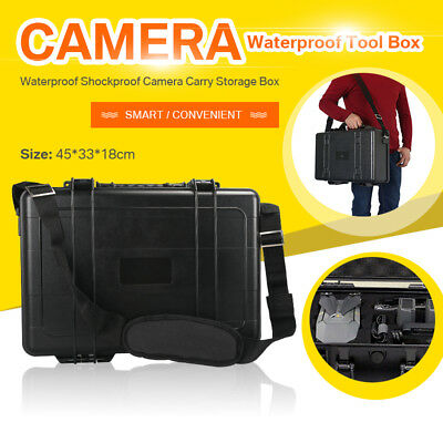 Waterproof Hard Carry Case Bag Storage Box For Camera Photography Aircraft Drone