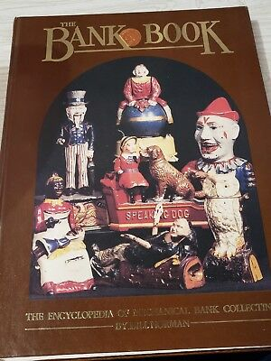 The Bank Book by Bill Norman 1984 Hardcover Mechanical Bank book Exc Con!