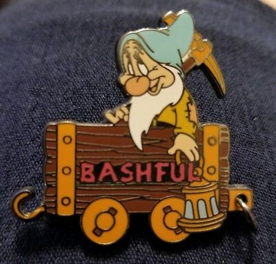 Bashful Disney Pin, 100 Years of Dreams #69  1937 Snow White and 7 Seven Dwarfs