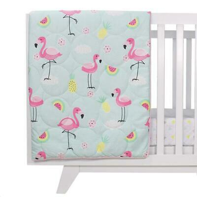 Lolliliving All Seasons Cot Quilt (Flamingo) Free Shipping!