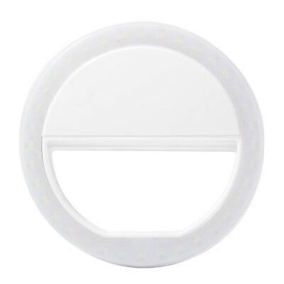 Universal Selfie Portable Flash LED Camera Fill-in Ring Light para iPhone DC694