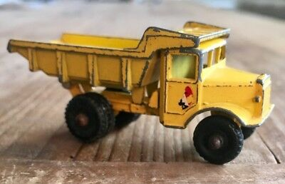 Vintage Lesney Tip Truck No 6 Diecast  Made In England