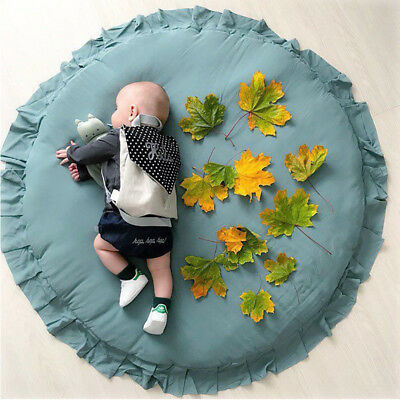 Round Baby Play Mat Cotton Carpet Props Accessories Baby Kids Room Decoration