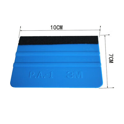 Window Cleaning With Cloth 3M Felt Squeegee Glass Car Sticker Wrapping Scraper