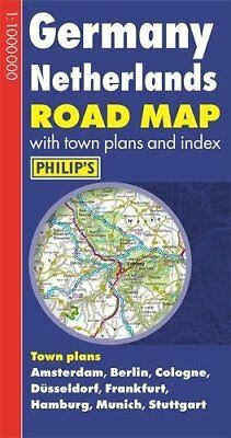 Philip's Germany and Netherlands Road Map Book The Cheap Fast Free Post