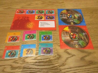 Stamps I GB ISLE of MAN 1999 Legends of Music Bee Gees + FDC + Minisheets