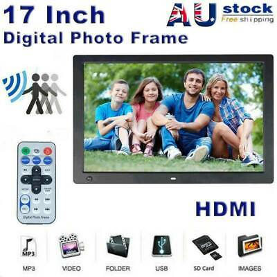 12'' LCD HD Electronic Digital Photo Frame Picture MP3 MP4 Player Birthday Gift