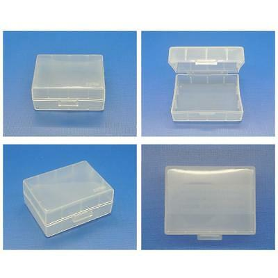 5Pcs Plastic Hard Case Holder Storage Box For Canon Nikon Samsung Battery