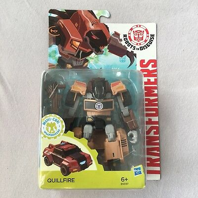 Transformers Robots in Disguise QUILLFIRE RiD Decepticon neu ovp