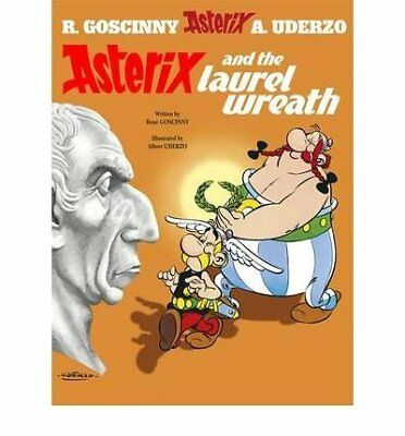 Asterix: Asterix and the Laurel Wreath by Rene Goscinny New Hardback Book