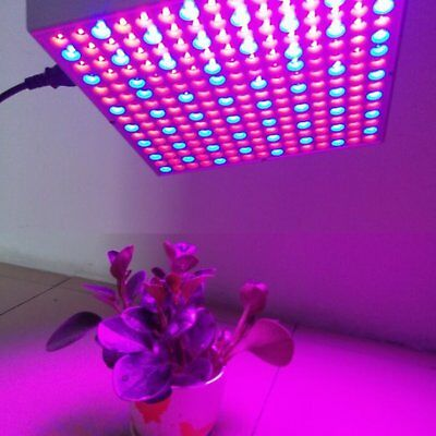14W LED Grow Light Croissance Floraison Horticole Lampe+kit Crochet IR UV FR