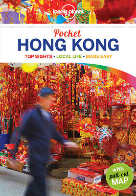 Lonely Planet Pocket Hong Kong Travel Guide BRAND NEW 9781786574435