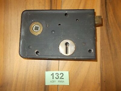 Vintage Antique Rim Lock / Latch Door Accessories Locks 132