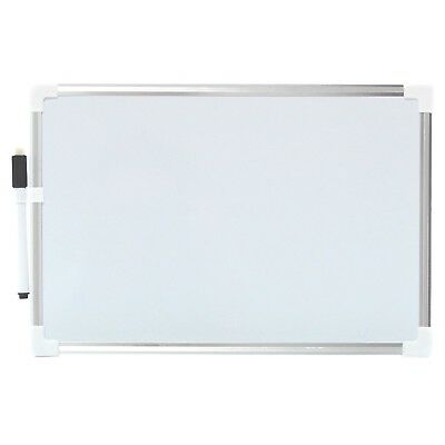 Drawing Board Durable Magnetic Children Writing Kids Whiteboard Silver Plastic