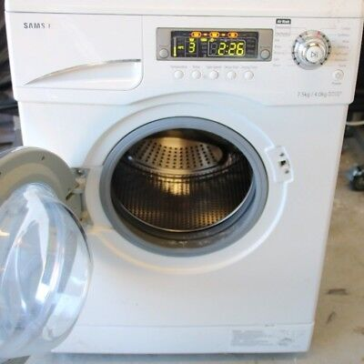 Washing Machine Drier combi WD-J1255C 7.5kg Saves time water and energy...