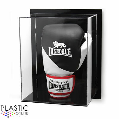 Wall Mounted Boxing Glove Display Case For Signed Autographed Boxing Glove Riser