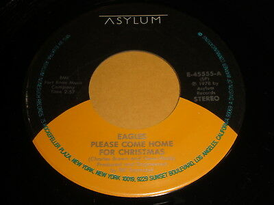Eagles Come Home For Christmas.The Eagles 45 Rpm Ps Please Come Home For Christmas Funky