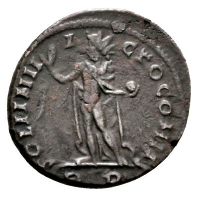 CONSTANTINE THE GREAT (312 AD) Unpublished Follis. Rome #MA 11424