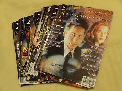 The X Files official magazines
