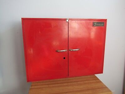 Vintage Snap-On Tool Storage Wall Mount Cabinet
