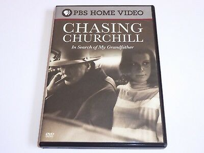 Chasing Churchill: In Search Of My Grandfather - GENUINE DVD - DISC MINT Winston