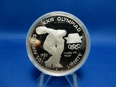 1883-S Los Angeles Olympiad Commemorative Proof Silver Dollar Coin