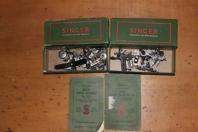 singer sewing machine bits. Not sure what they are. For No. 201K? Very old