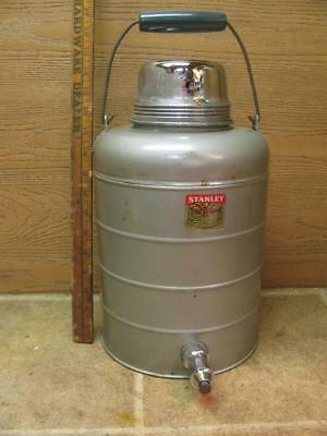 VINTAGE LARGE STANLEY Thermal Jug Thermos Stainless Steel Lined ...