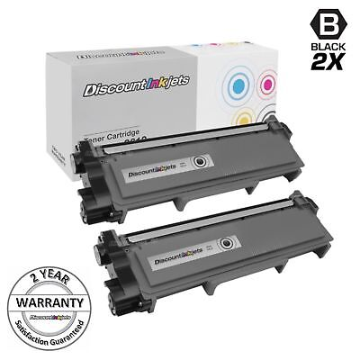2PK Brother Compatible TN630 TN660 High Yield Black Toner Cartridge NEW TN-660
