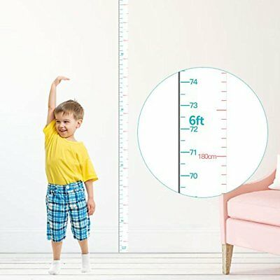 Height Chart for Kids Growth Chart Ruler Wall Decor  Measuring large 83''1.97''