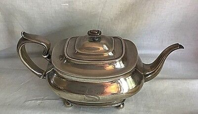 "Antique 3 1/2 pt * 7171* Whiting Manuf. Sterling Silver 6 1/2"" Tea Pot 745 gr."