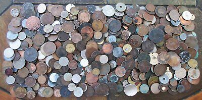 7+ Pounds World Culls Coins >Huge Interesting Lot > See Pics > No Reserve
