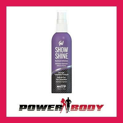 Pro Tan-Show Shine,MaximumDefinitionUltraLightCompetition Posing Oil Spray-118ml