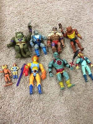 Awesome Vintage 1985 Telepix, LJN. Thundercats Lot With Weapons