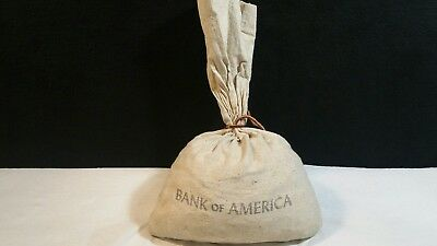 Bank Bag Of 5000 / 37Lbs Unsearched Wheat Penny  Lot.