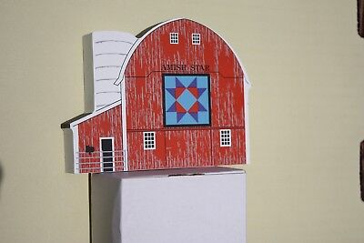 The Cat's Meow VillageAmish Star Quilt Barn  #06-511