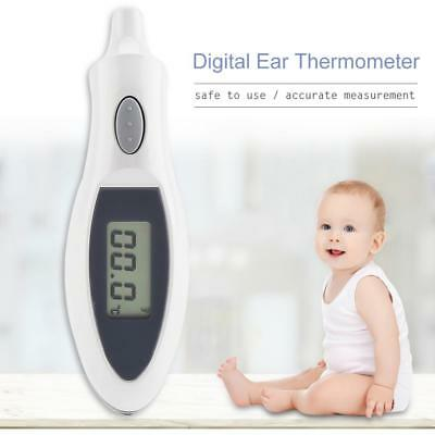 Digital Portable Ear Infrared IR Thermometer LCD Baby Adult Body Temperature CR