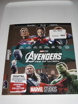 The Avengers Age Of Ultron / Blu ray Slip Cover Only / No Disc
