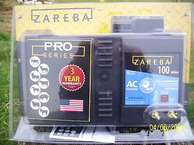 ZAREBA 100 Mile Low Impedance  Electric Fence Charger (Brand New in package)