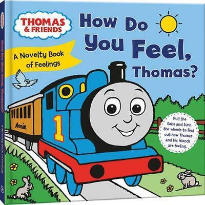How Do You Feel, Thomas? by Thomas & Friends Board Books Book Free Shipping!