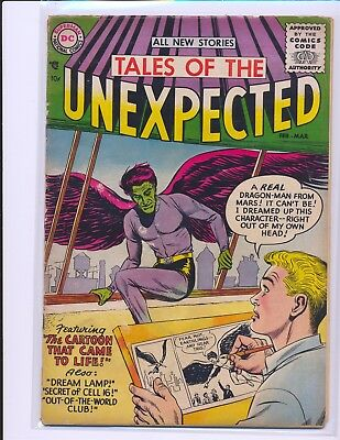 Tales of the Unexpected # 1 Good+ Cond. centerfold detached
