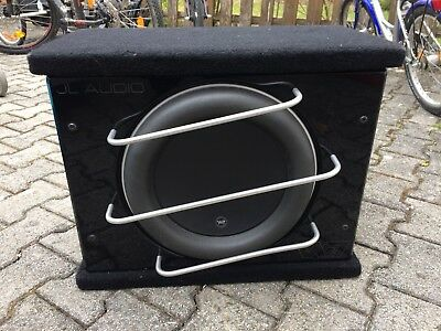JL AUDIO W7-Serie CLS113RG-W7AE 33cm Gehäusesubwoofer 1500 W. RMS Bass Subwoofer