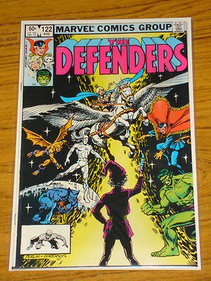 Defenders #122 Vol1 Marvel Comics Silver Surfer Apps August 1983
