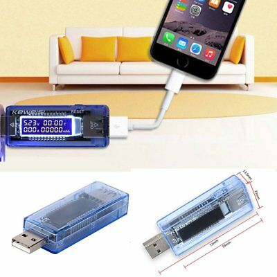 US USB charging Detector  Power Capacity Battery Voltage Current Meter Tester