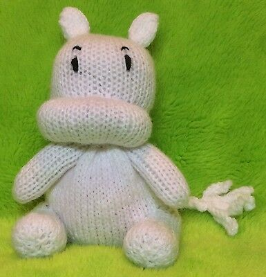 KNITTING PATTERN - Moomin inspired chocolate orange cover   17 cms toy cc29b6e6e9d